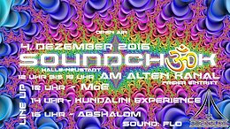 Party Flyer Soundcheck @ MoE, Kundalini Experience, Abshalom 4 Dec '16, 12:00