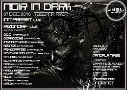 Party Flyer Noir In Dark 7 Dec '16, 22:00
