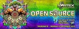 Party Flyer Vortex OpenSource Festival 2016 8 Dec '16, 10:00