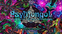 Party Flyer Delta Tribe pres. PsyMongol 9 Dec '16, 16:00