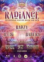 Party Flyer EPIC Tribe pres. RADIANCE 17 Dec '16, 21:00