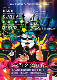 Party Flyer Lucky Punch 2 - Christmas Edition 24 Dec '16, 23:00