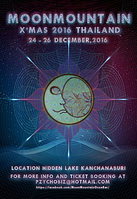 Party Flyer Moon Mountain Xmas 2016 24 Dec '16, 10:00