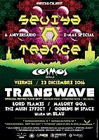 Party Flyer Sevilla 'N' Trance @Sala Cosmos 23/12/2016 (Transwave live Set ) 6 Aniversario 23 Dec '16, 23:30