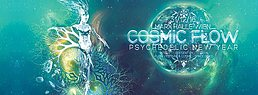 Party Flyer COSMIC FLOW - Psychedelic New Year 31 Dec '16, 22:00