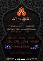 Party Flyer Fractal Energy - NYE edition 2 31 Dec '16, 21:00