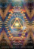 Party Flyer INNER DIMENSION new year event 31 Dec '16, 18:00
