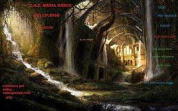 Party Flyer T.A.Z. Mania Dance 31 Dec '16, 22:00