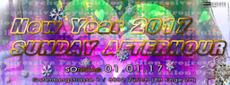Party Flyer NEW YEAR - SUNDAY AFTERHOUR - BH Enge ZH 1 Jan '17, 11:00