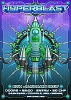 Party Flyer Hyperblast 6 Jan '17, 22:00
