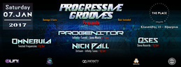 Party Flyer Progressive Grooves 7 Jan '17, 23:30