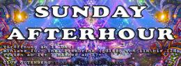 Party Flyer SUNDAY AFTERHOUR - Club GUTENBERG in Zürich 8 Jan '17, 11:00