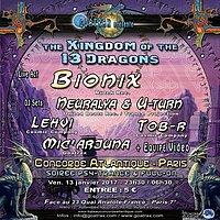 THE KINGDOM OF THE THIRTEEN DRAGONS 13 Jan '17, 23:30