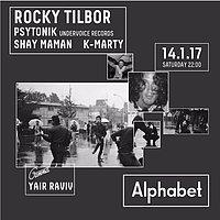 Party Flyer Sabotage @ Alphabet Club 14 Jan '17, 22:00