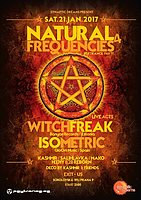 Party Flyer Natural Frequencies 4 21 Jan '17, 21:00