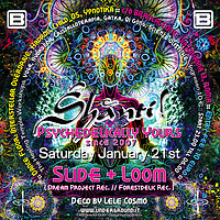 Party Flyer Shanti! :: Psychedelically yours since 2007 21 Jan '17, 22:00