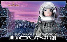 Party Flyer Chilca OVNI Fest .Festival de Arte y Misterios del Perú 2 Feb '17, 18:00