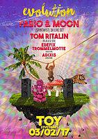 Party Flyer Evolution w fabio & Moon (Spintwist) 3h Live uvm. 3 Feb '17, 23:00