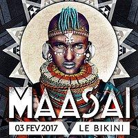 Party Flyer Maasaï #2 // Coming Soon, Fender Bender, Aviation, Marco Messari 3 Feb '17, 23:00