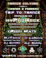 Party Flyer Trip to Trance 3 Feb '17, 23:30