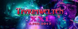 Party Flyer Die Halle - Yahel / Juan Verdera aka The Muses Rapt / Antagon / Hatikwa and more 4 Feb '17, 22:00