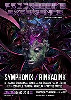 Party Flyer Progressive Experience with Symphonix / Rinkadink 4 Feb '17, 23:00