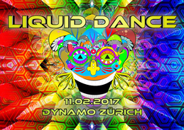 Party Flyer ॐ Liquid Dance ॐ 11 Feb '17, 21:00
