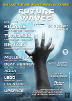 Party Flyer The last Future Waves Party in Stairs 11 Feb '17, 23:00