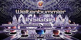 Weltenbummler with INSIGNIA (live) 11 Feb '17, 23:00