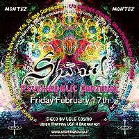 Party Flyer Shanti@Psycarnival 17 Feb '17, 22:00