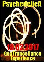 Party Flyer ***PsdychedelicA*** 18 Feb '17, 21:00