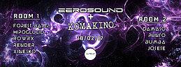 Party Flyer ZEROSOUNDS + KOMAKINO @ Jungle Club, Valencia 18 Feb '17, 22:00