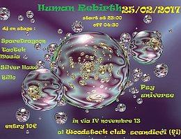 Party Flyer Psy Universe Presents : ( HuMaN ReBiRtH ) 25 Feb '17, 23:00