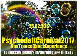 Party Flyer PsychedeliCarnival 2017 25 Feb '17, 21:30