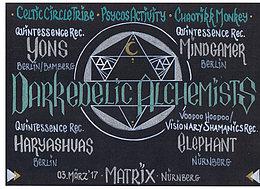 Darkedelic Alchemists 3 Mar '17, 22:00