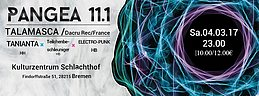 Party Flyer PANGEA 11.1 4 Mar '17, 23:00