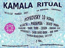 Party Flyer Kamala Ritual 10 Mar '17, 10:00