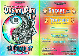 Party Flyer Dream Ohm IV 18 Mar '17, 23:30