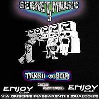 Party Flyer Secret music 3 ॐ TEKNO GOA 2 SALE ॐ 18 Mar '17, 22:00
