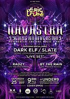 Party Flyer EPIC Tribe pres. Navastra - 9 Years Anniversary 25 Mar '17, 21:00