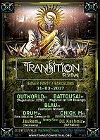 TRANSITION Festival TEASER party - Barcelona 31 Mar '17, 01:00