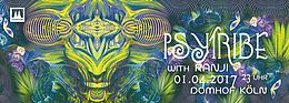 Party Flyer PSY TRIBE mit Ranji 1 Apr '17, 23:00