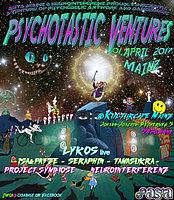 Party Flyer Psychotastic Ventures 1 Apr '17, 21:00