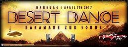 Party Flyer Desert Dance -Karawane zur Sonne - Pre Party - Francis Birthday 7 Apr '17, 22:00