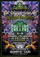 Party Flyer Psybox - Progressive Awakening - NBM Rec. Label Night 7 Apr '17, 22:00