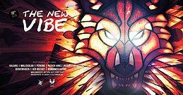 Party Flyer The New VIBE / ॐKularis Live ॐDJ Mullekular (SpinTwist Records) 8 Apr '17, 23:00