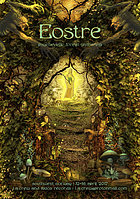 Party Flyer EOSTRE - Psychedelic Forest Gathering 12 Apr '17, 18:00