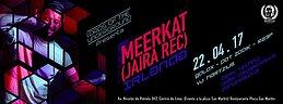 Party Flyer Lords of the Underground present. Meerkat (jaira rec.) 22 Apr '17, 21:30