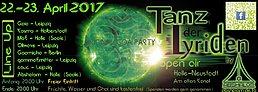 Party Flyer ☯ॐ Tanz der Lyriden findet nicht statt 22 Apr '17, 20:00