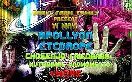 Party Flyer BrainFarmFAmily 6 May '17, 23:30